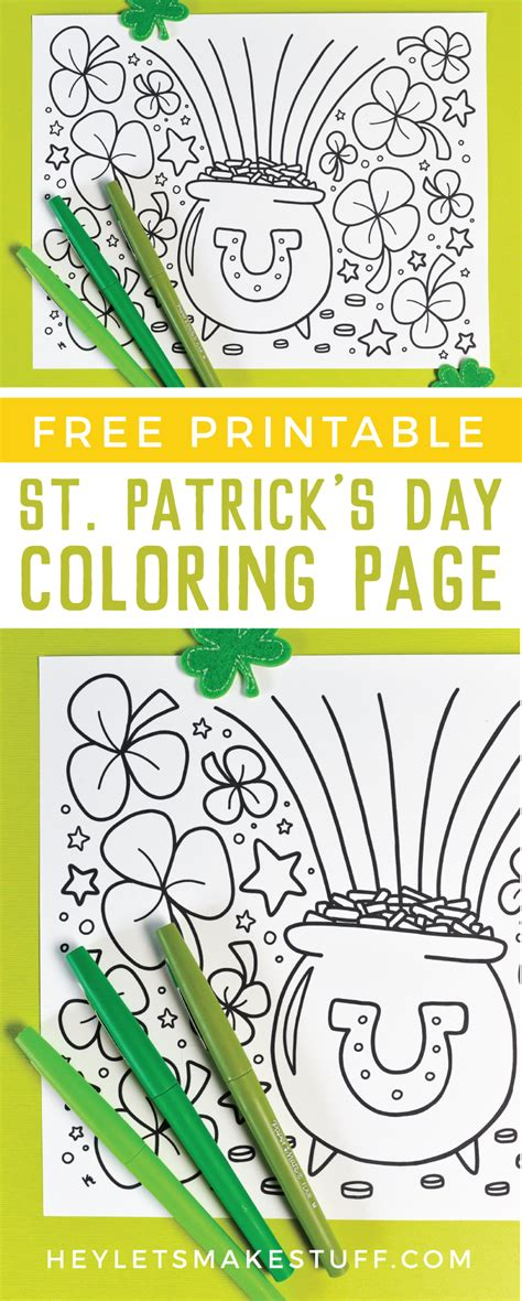 free printable st day coloring pages free printable st s day coloring page hey let