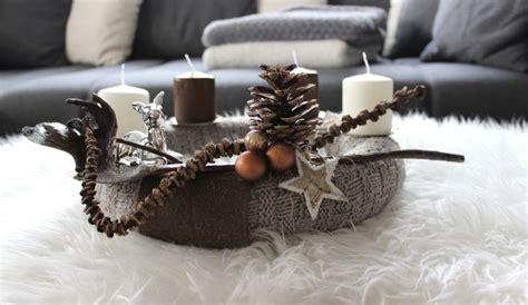 Dekorieren Mit Fell by Nat 252 Rlich Dekorieren Im Advent Und Zu Weihnachten