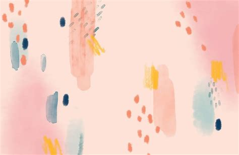 multi coloured paint brush strokes abstract wallpaper