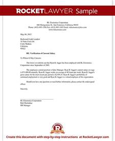 Salary Verification Letter Template With Sample