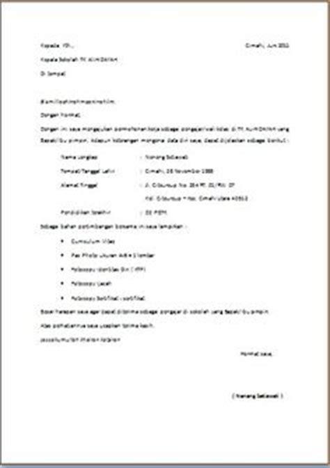 format surat lamaran kerja untuk mahasiswa contoh cv bahasa inggris mahasiswa http ahmadjn com