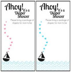 nautical baby shower invitations templates free printable nautical themed baby shower invitation