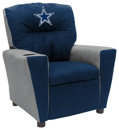 dallas cowboys recliner chair dallas cowboys fan favorite kids recliner contemporary