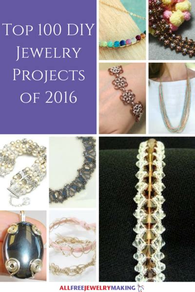 top 100 diy jewelry projects of 2016 beads pearls
