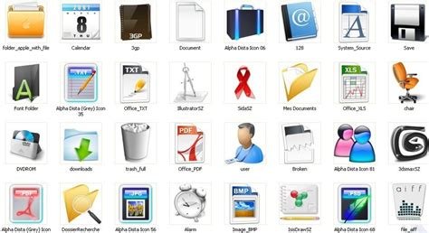 office icons office icons windows desktop icons free