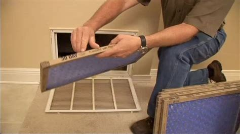 changing air filters    simple task homeowners