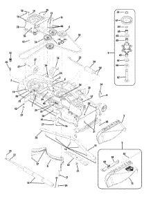white zero turn mower parts parts for white outdoor 17bk2ack090 2008 zero turn mower
