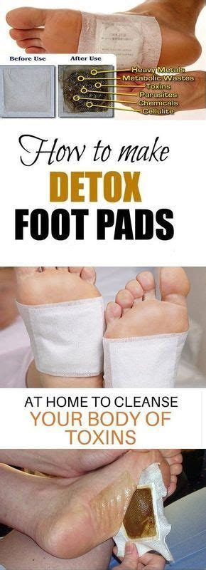 Foot Detox Classes by Here S How To Make Detox Foot Pads To Cleanse