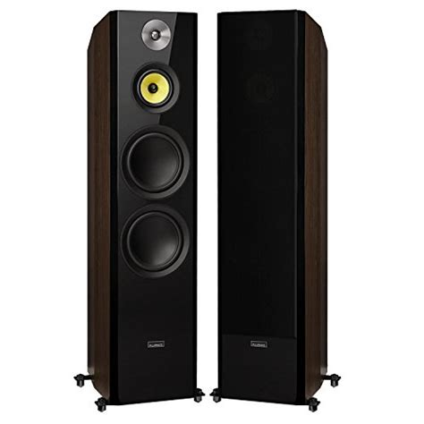 10 woofer three way floor standing speakers fluance signature series hi fi three way floorstanding