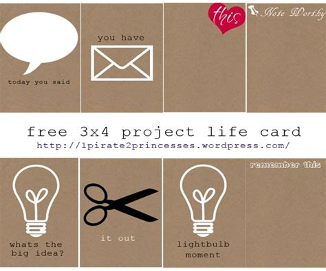 3x4 Cards Template by 808 Best Images About Project On Project