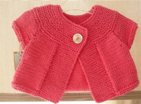 ttc bebek tricoter un gilet pour bebe