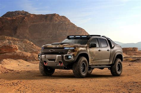 chevy concept truck 2016 chevrolet colorado zh2 concept conceptcarz com