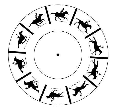 printable zoetrope template whirling watcher perception science activity