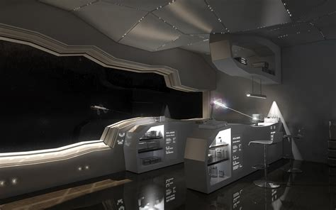 spaceship bedroom vintage bedroom wallpaper teen room futuristic interior