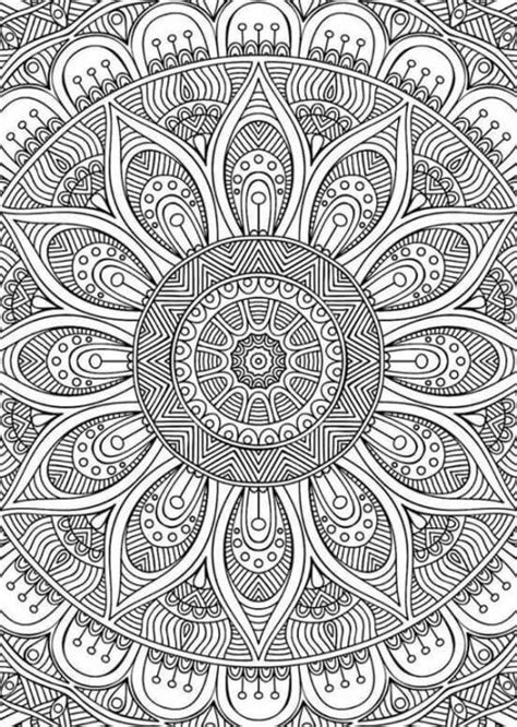 mandala pattern tumblr adult coloring mandala tumblr