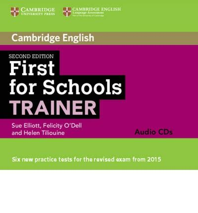 first for schools trainer audio cds 3 sue elliott 9781107446113
