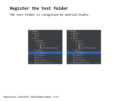 android studio unit test tutorial how to setup unit testing in android studio