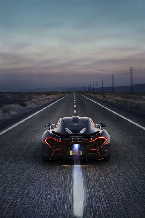 the open road and a mclaren p1 xp7 car lust