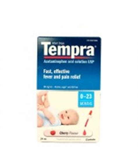 Tempra Syrup 100ml treatments for earache free shipping 50