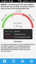 hydration 10 microsoft forefront inc launches dehydration test app