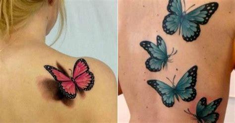 tattoo 3d cena tatuaż motyl kolorowe wzory na nadgarstek kark i plecy