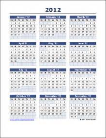 Year Calendar Template Excel yearly calendar template for 2016 and beyond