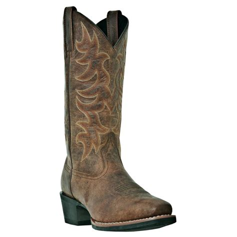 laredo cowboy boots mens s laredo 12 quot piomosa western boots brown 590521