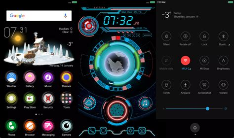 Download Miui Themes Without Xiaomi Account | digital dark miui 9 theme mtz download redmi themes