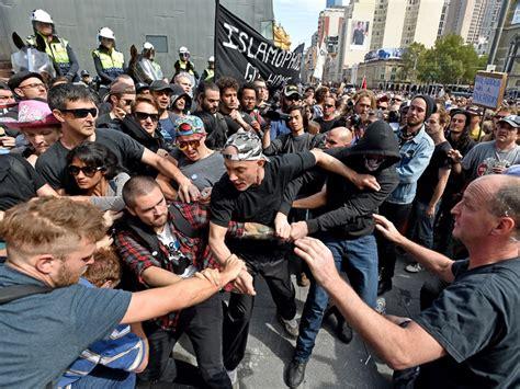 nigger violence protests turn violent across australia sbs news