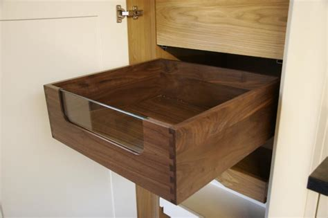 dovetailed handcrafted drawers timbertone design