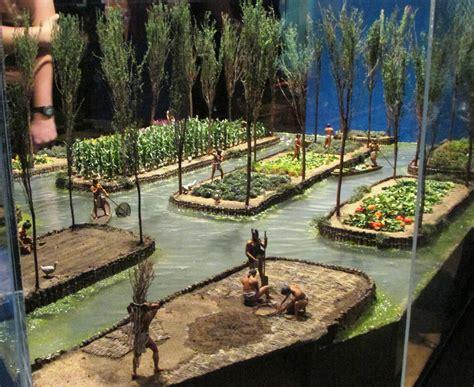 Aztec Floating Gardens aztecs exhibition at melbourne museum melbourne