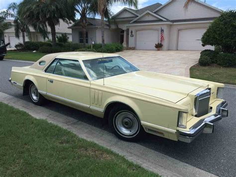 lincoln v 1979 1979 lincoln continental v for sale classiccars