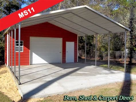 Metal Carport With Storage Shed by Best 25 Metal Sheds For Sale Ideas On