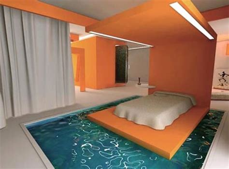 Moisture In Bedroom by Water Beds Take Two Funky Liquid Furniture Ideas