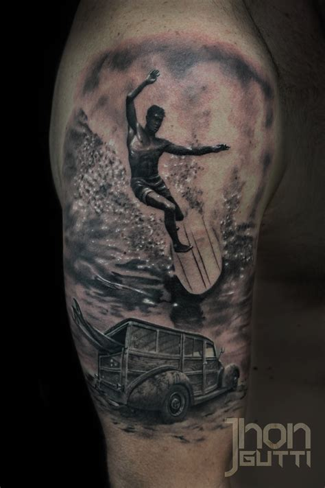 surfing tattoos certified artist
