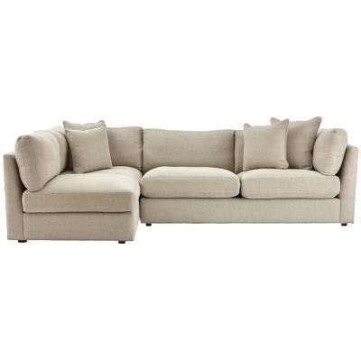 home decorators collection griffith sugar shack putty sectionals living room furniture the home depot