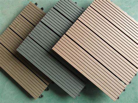 Meise Cedar Wpc Diy Easy Installation Decking Tile Edt Meisen