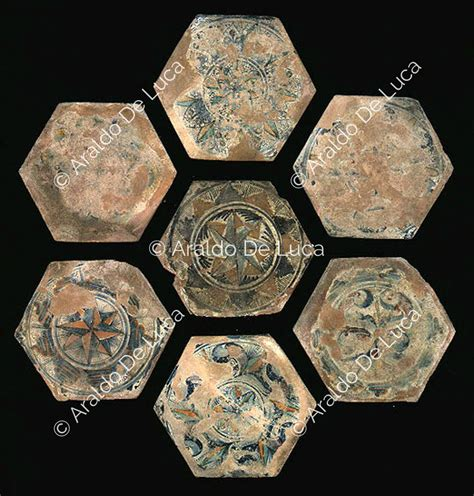 pavimenti geometrici pavimento maiolicato con disegni geometrici 11401