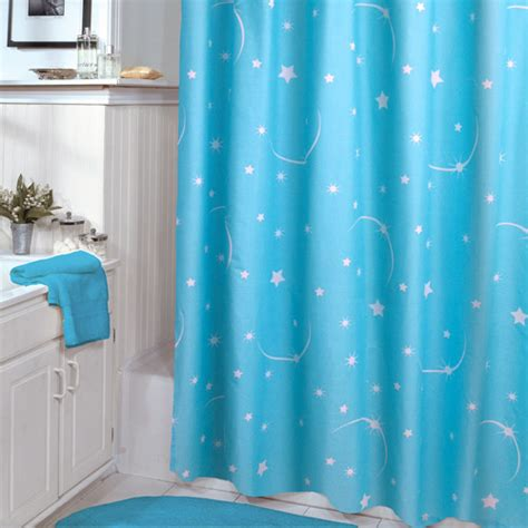 glow in the dark curtains veratex glow in the dark shower curtain walmart com
