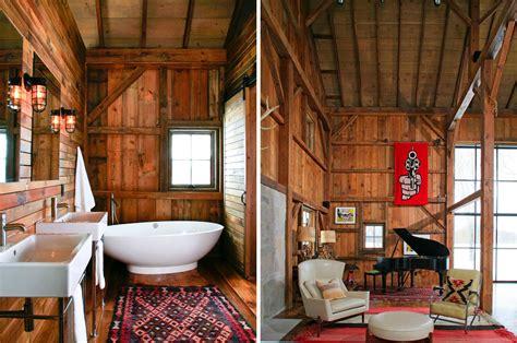 barn house interior modern michigan barn house conversion with rustic interiors idesignarch interior