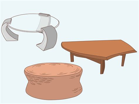 how to choose a coffee table 8 steps with pictures wikihow