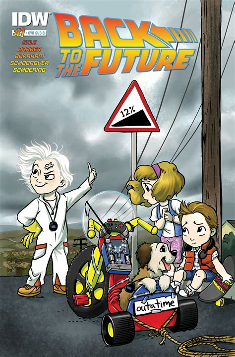 back to the back to the future 1 idw publishing