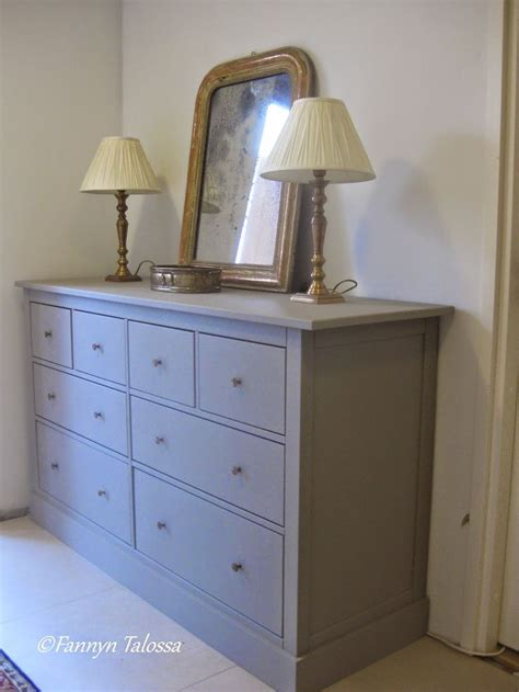 ikea pine dresser painted new look with laura ashley pale french gray paint antique