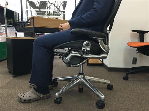 Ergo Chair 写真付 アーロンチェアとエルゴヒューマンの違いがわかるブログ Oaランド博多ショールーム