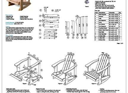 build  adirondack chair  plans