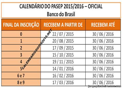 tabela de pagamento dos servidores da pbh 2016 tabela do pagamento pasep 2016 newhairstylesformen2014 com