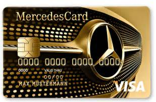 Mercedes Card New Mercedes Credit Card Silver And Gold Offers