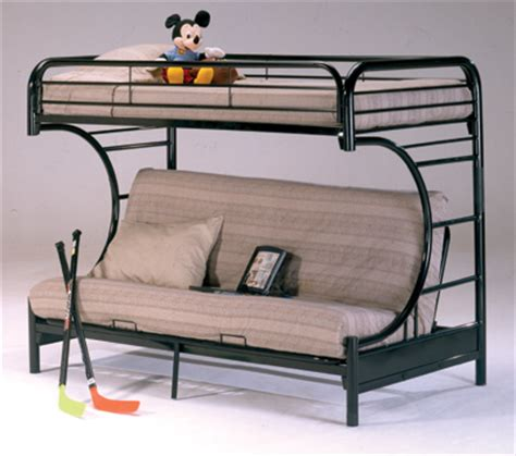 double bunk sofa bed metal twin futon bunk bed