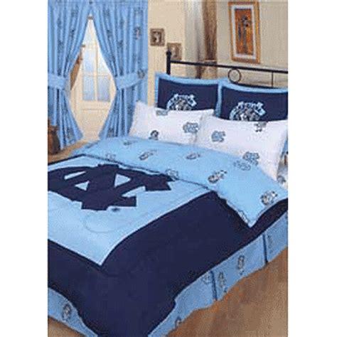 Unc Comforter by Carolina Tarheels 100 Cotton Sateen Comforter Set