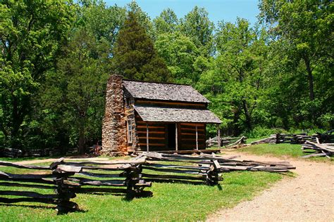 Rustic Log Cabins Rustic Log Cabin Photograph By Diana Gentry